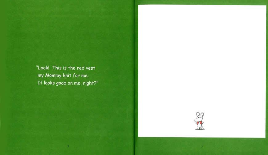 Little Mouse's Red Vest ねずみくんのチョッキ(英語版) | 多聴多読ステーション 立ち読み ...